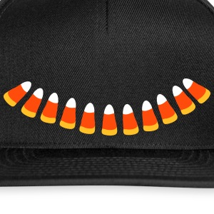 Candy Corn halloween Necklace patjila Caps & Hats - Snapback Cap