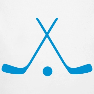 hockey sticks / hockey symbol Babybody - Økologisk langermet baby-body