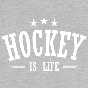 hockey is life 3 Baby T-Shirts - Baby T-Shirt