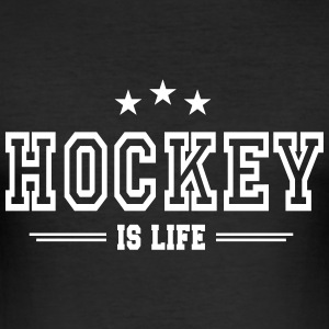 hockey is life 2 T-skjorter - Slim Fit T-skjorte for menn