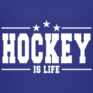 hockey is life 1 Camisetas - Camiseta premium adolescente