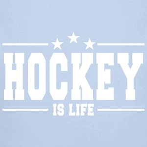 hockey is life 1 Baby Bodys - Baby Bio-Langarm-Body