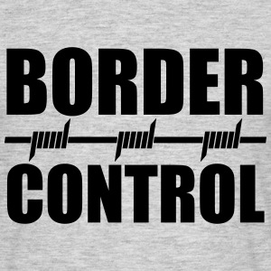 Border Control Tee shirts - T-shirt Homme