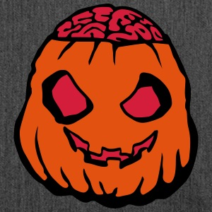 Pumpkin zombie Bags & Backpacks - Shoulder Bag made from recycled material