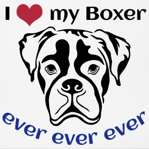 I-love-my-Boxer Sonstige - Mousepad (Querformat)