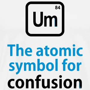 THE CHEMICAL ELEMENT OF CONFUSION Tee shirts - T-shirt Premium Homme