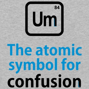 THE CHEMICAL ELEMENT OF CONFUSION Langærmede shirts - Børne premium T-shirt med lange ærmer