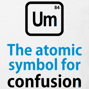 THE CHEMICAL ELEMENT OF CONFUSION T-shirts - Organic børne shirt