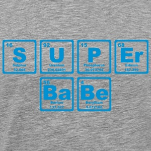 SUPERBABE PERIODIC TABLE OF THE ELEMENTS T-shirts - Premium-T-shirt herr