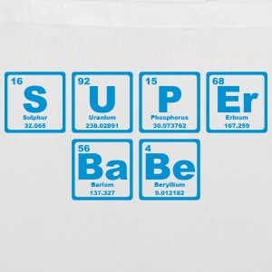 SUPERBABE PERIODIC TABLE OF THE ELEMENTS Bags & Backpacks - Tote Bag