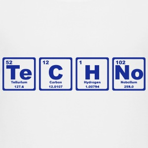 TECHNO PERIODIC TABLE Camisetas - Camiseta premium adolescente