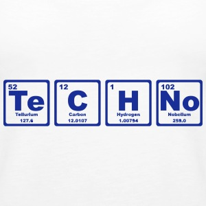 TECHNO PERIODIC TABLE Topper - Premium singlet for kvinner