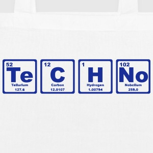 TECHNO PERIODIC TABLE Bags & Backpacks - EarthPositive Tote Bag