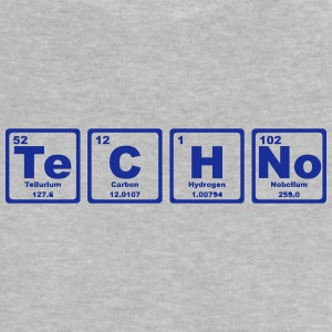 TECHNO PERIODIC TABLE Camisetas - Camiseta bebé
