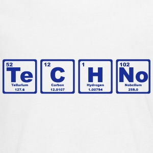 TECHNO PERIODIC TABLE Long Sleeve Shirts - Teenagers' Premium Longsleeve Shirt