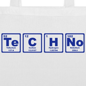 TECHNO PERIODIC TABLE Borse & zaini - Borsa di stoffa