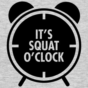 It's Squat O'Clock Camisetas - Camiseta hombre