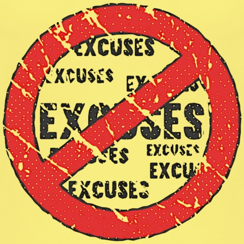No More Excuses   Vintage Look