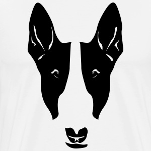 Dog head T-Shirts - Men's Premium T-Shirt
