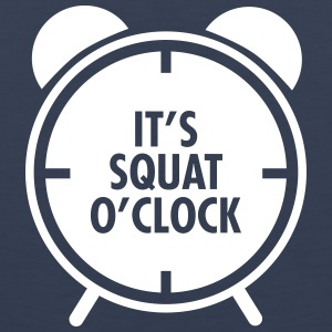 It's Squat O'Clock Tank topy - Tank top męski Premium