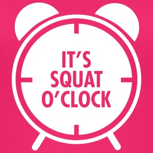 It's Squat O'Clock Top - Top da donna ecologico