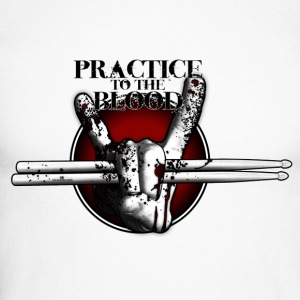 Practice to the Blood Long Sleeve Shirt - Männer Baseballshirt langarm