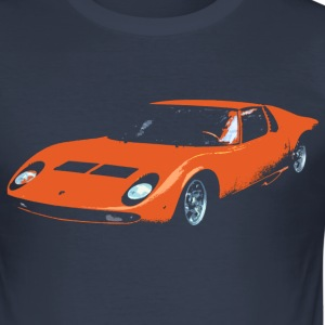 supercar T-Shirts - Men's Slim Fit T-Shirt