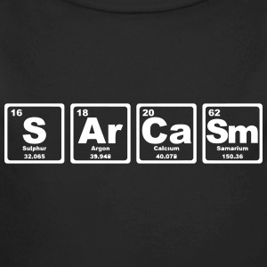 SARCASM PERIODIC TABLE Baby Bodysuits - Longlseeve Baby Bodysuit