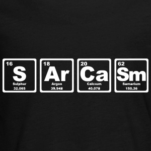 SARCASM PERIODIC TABLE Shirts met lange mouwen - Teenager Premium shirt met lange mouwen