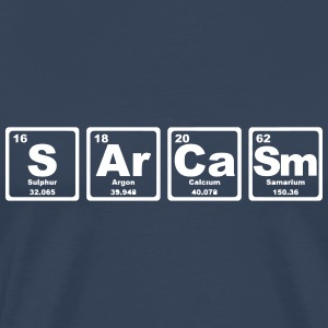 SARCASM PERIODIC TABLE Tee shirts - T-shirt Premium Homme