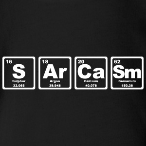 SARCASM PERIODIC TABLE Tee shirts - Body bébé bio manches courtes