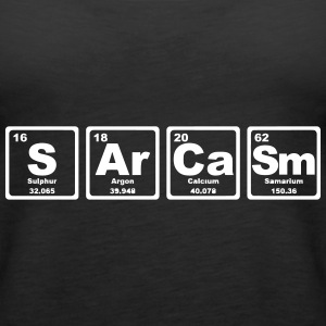 SARCASM PERIODIC TABLE Top - Canotta premium da donna
