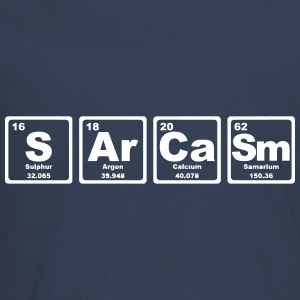 SARCASM PERIODIC TABLE Manches longues - T-shirt manches longues Premium Ado