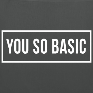 You So Basic Bags & Backpacks - Tote Bag