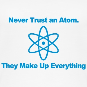Trust no atom! Tops - Women's Organic Tank Top