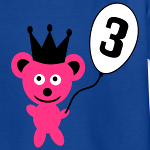 "Geburtstag T-Shirts mit ""3rd birthday"""