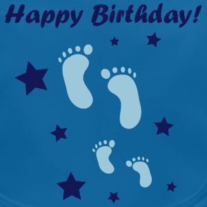 "Geburtstag T-Shirts mit ""Happy Birthday Baby!"""