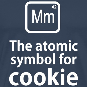 Mm the ELEMENT for cookies T-shirts - Herre premium T-shirt