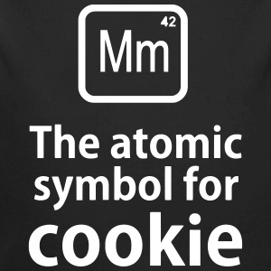 Mm the ELEMENT for cookies Baby-bodyer - Langærmet babybody, økologisk bomuld