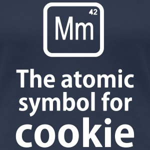Mm the ELEMENT for cookies T-shirts - Dame premium T-shirt