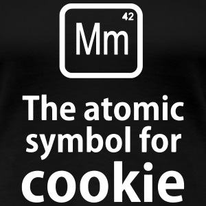 Mm the ELEMENT for cookies T-shirts - Vrouwen Premium T-shirt