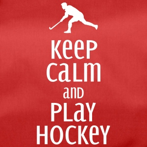 keep calm and play hockey Vesker & ryggsekker - Sportsbag