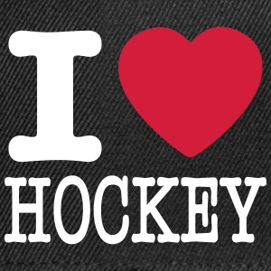 i love hockey / I heart hockey Czapki  - Czapka typu snapback