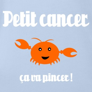 Petit cancer Shirts - Organic Short-sleeved Baby Bodysuit