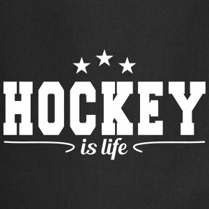hockey is life 4  Aprons - Cooking Apron
