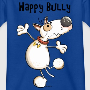 Happy Bullterrier Shirts - Kids' T-Shirt