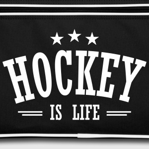hockey is life 3 Bags & Backpacks - Retro Bag