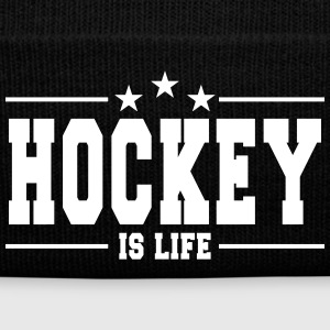 hockey is life 1 Caps & Mützen - Wintermütze