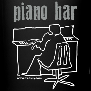 piano bar - Tasse einfarbig