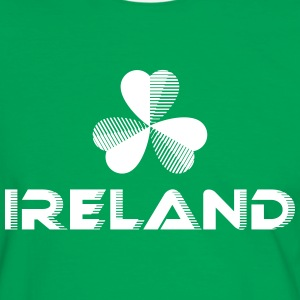 Sporty Ireland Shamrock - Men's Ringer Shirt